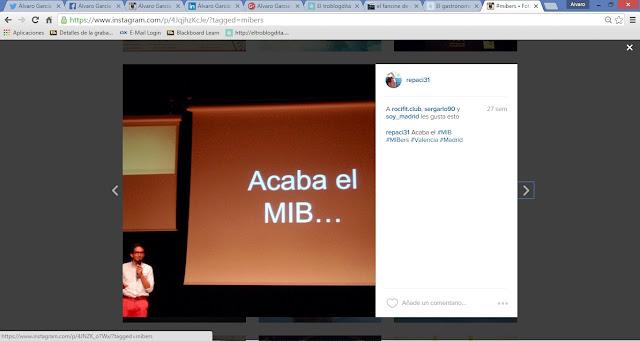 MIBer - MIBers - el MIB en imágenes: Twitter - ISDI - Álvaro García - ÁlvaroGP - Social Media & SEO