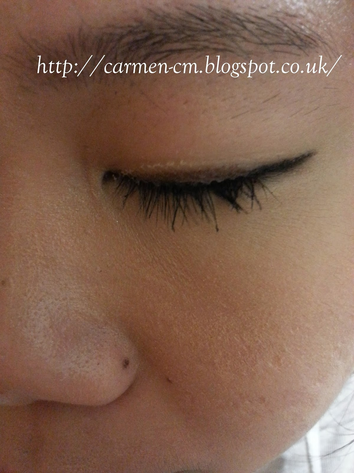 Just Only Carmen: method to apply lace double eyelid tape