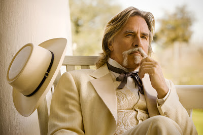 Don Johnson as Big Daddy Bennett, Django Unchained, Directed by Quentino Tarantino