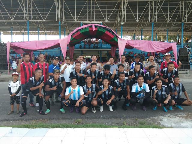 Karang Taruna Cup tahap III Sukses Male Fc Kembali Juara