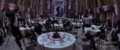 Disordine al comizio di Shaw