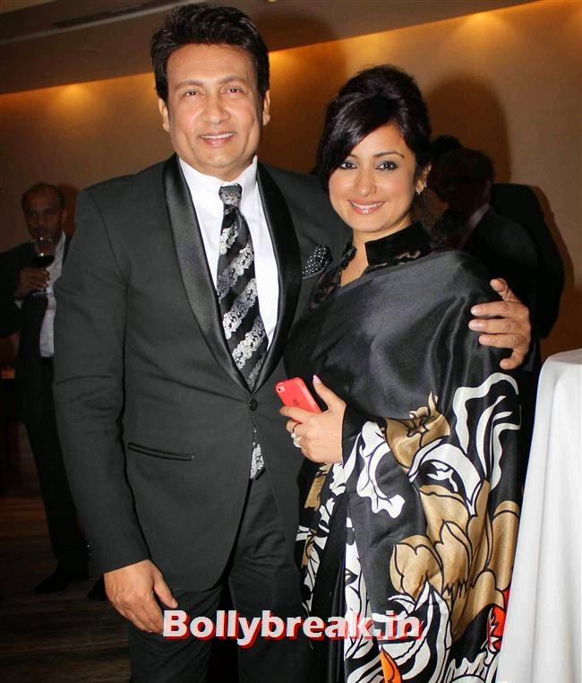 Shekhar Suman and Divya Dutta, Monali Thakur, Pooja Bedi, Amitabh  NRI of The Year Awards 2014