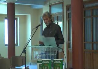 Ο συγγραφέας Γιάννης Καλπούζος στην Ηγουμενίτσα (ΒΙΝΤΕΟ)