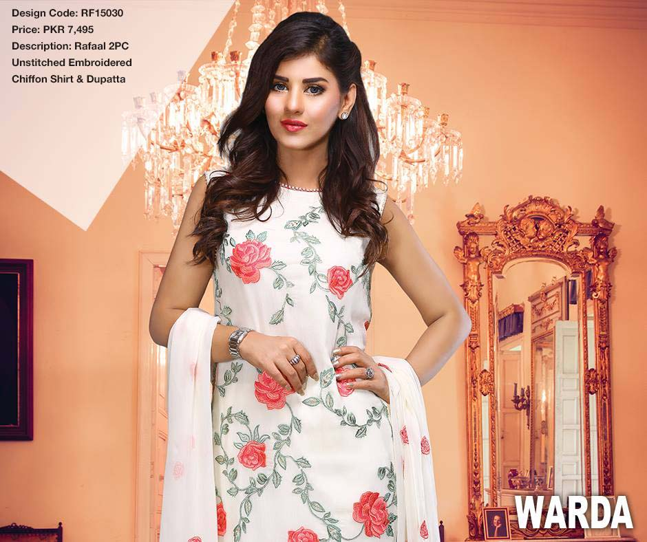 8d9a6979dd90 Warda is one of the prestigious outfit product in Pakistan style market  since it gives top quality characteristics of material to females in  materials ...