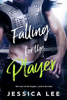 romance novel covers, M/M romance, Contemporary Romance, Falling for the Player by Jessica Lee