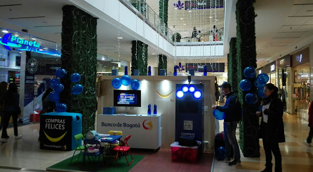 Fotocabina para centros comerciales