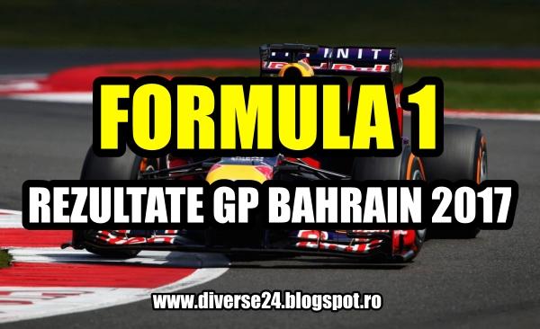Marele premiu al Bahrainului la formula 1 2017