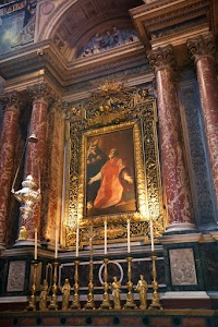 A Tour of the London Oratory: The Altar of St. Philip Neri