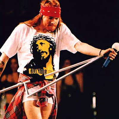 as worn by Axl Rose 'KILL YOUR IDOLS' Jesus Christ T-Shirt