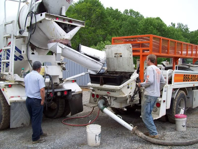 Mike And Lisa S World Chapter 64 Pouring A Concrete