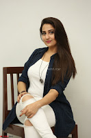Manjusha in White Tight T Shirt and Black Jacket ~  Exclusive Celebrities Galleries 023.JPG