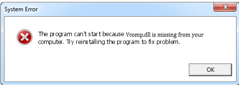 Télécharger Vcomp.dll Fichier Gratuit Installer