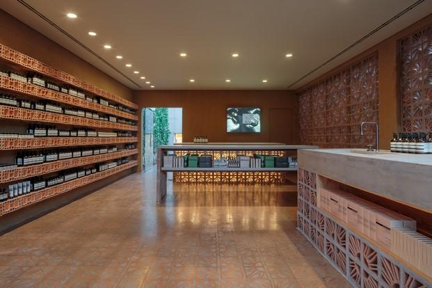 Green Pear Diaries, interiorismo, retail, Aesop, Vila Madalena, Sao Paulo