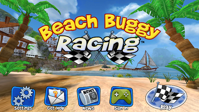 Game seru 2016 Beach Buggy Racing