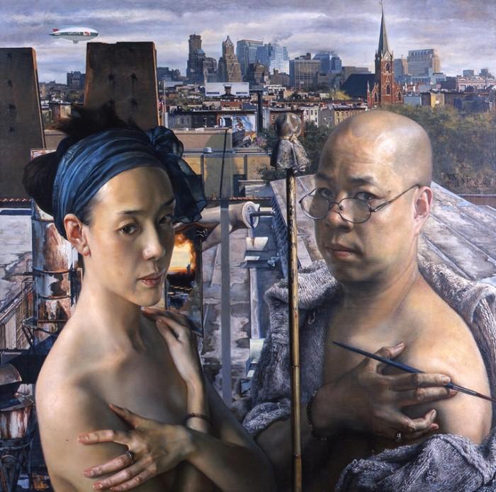 Yuqi Wang. Чувственные и сильные картины 17
