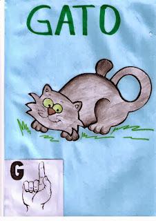 alfabeto libras para imprimir G