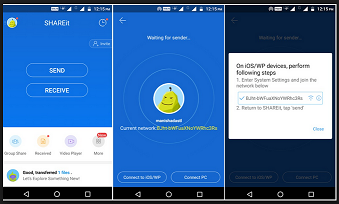 How to Transfer Files using the App SHAREit