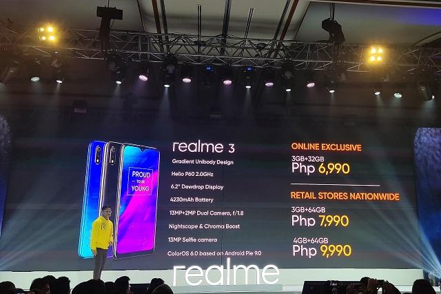 Realme 3 Philippines Price