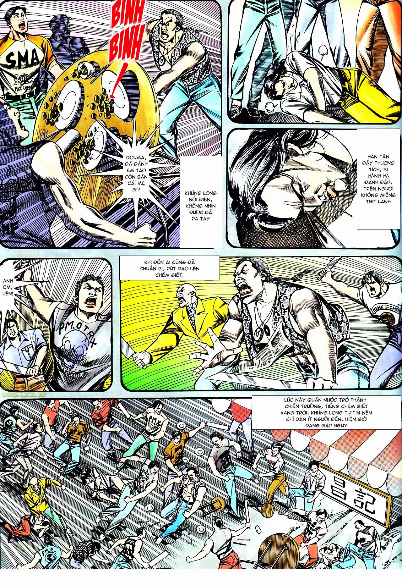 Người Trong Giang Hồ chapter 130: cô ta đến từ giang hồ trang 21