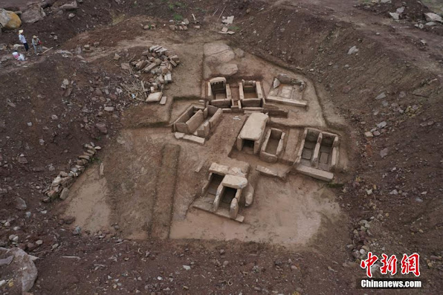 27 ancient tombs unearthed in southwest China's Chongqing