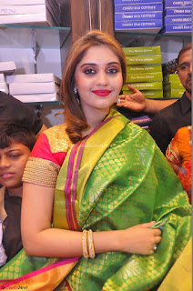 Surabhi looks stunning in Saree at Nakshatra Fashion Store Launch at Suchitra X Road 17.JPG