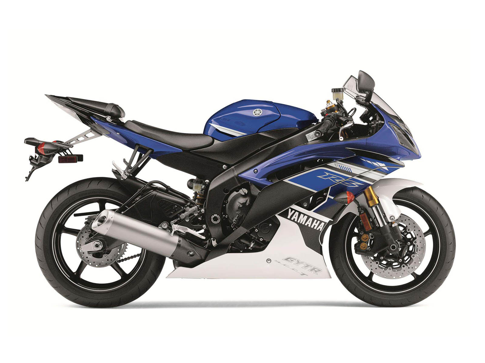 Yamaha Yzf R Blue