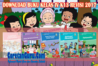 Download Buku Kelas 4 SD/MI K13 coretanguru