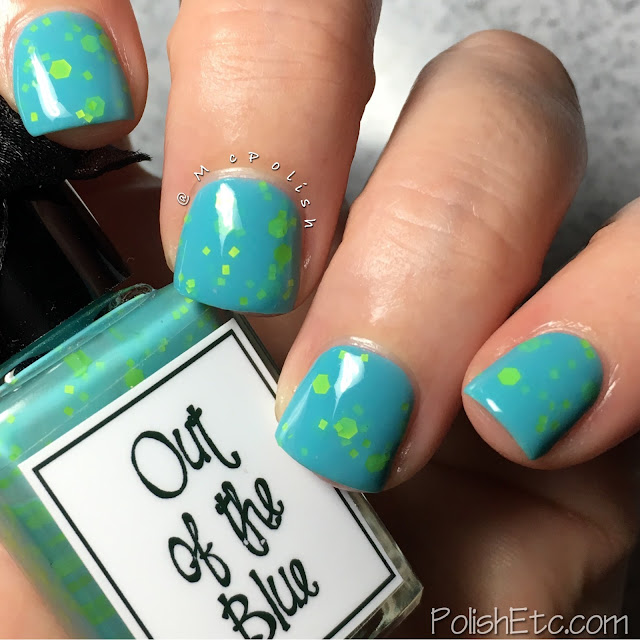 Whimsical Ideas by Pam - Summer 2017 - McPolish - Out of the Blue