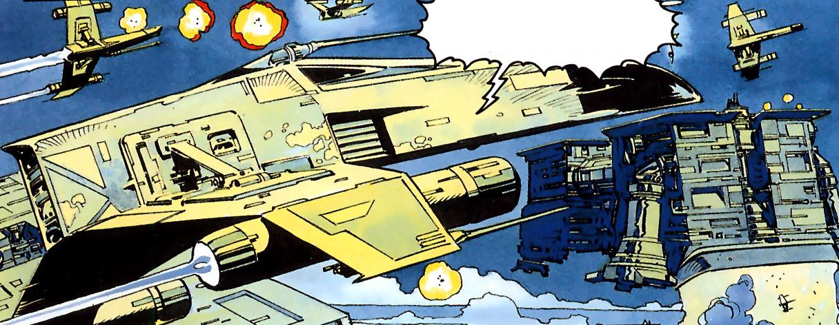 Top 6 Favorite Star Wars Legends Ships By Eric Onkenhout