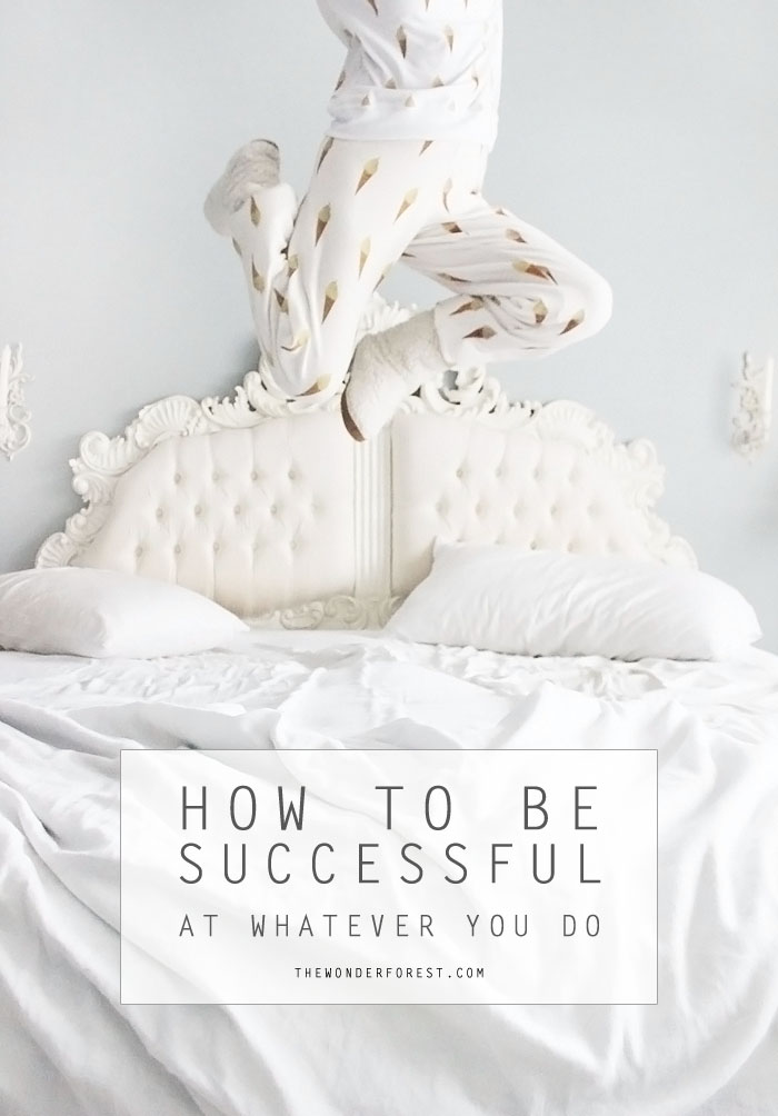 How to be Successful from the Wonder Forest [Weekly Round-Up at High-Heeled Love]