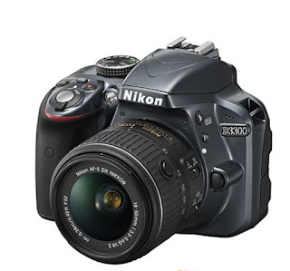 Harga Kamera DSLR Nikon D3300 Kit 18-55 mm