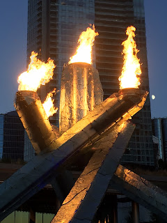 Winter Olympics 2010 caldron