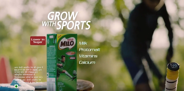 MILO launches new ad campaign:  MILO® – GROW WITH SPORTS (Nestle)
