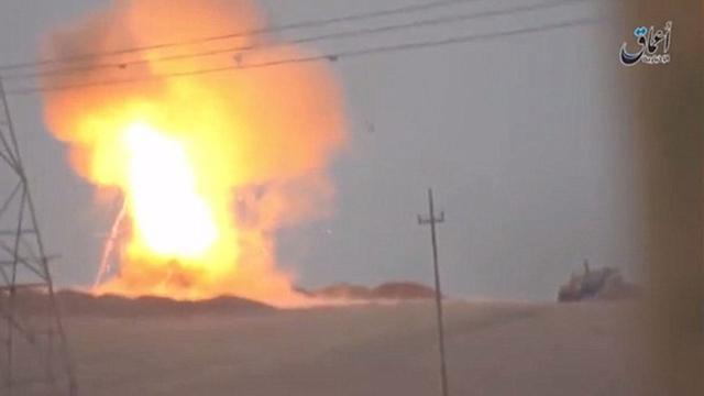 ISIS destruye Tanque Norteamericano con misil ruso
