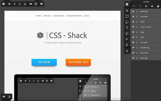 CSS- Shack