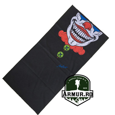 esarfa, fular bandana clown usa