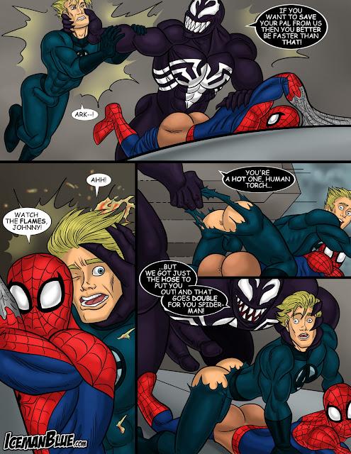 Schwule Spiderman-Cartoon-Pornos