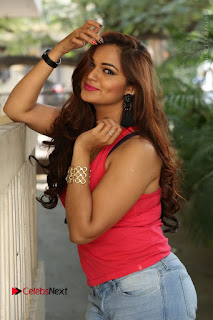 Tollywood Actress Ashwini Latest Stills in Ripped Jeans  0144.JPG