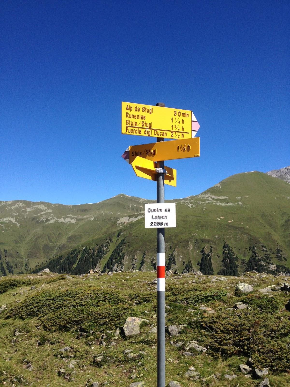Summo in monte Cuolm da Latsch vocitato