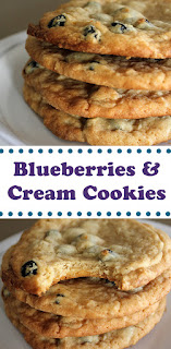 Blueberry Amp Cream Cookies Fresh From The