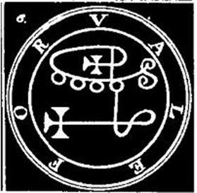 Valefor, Sigilo, Goetia, Ocultismo
