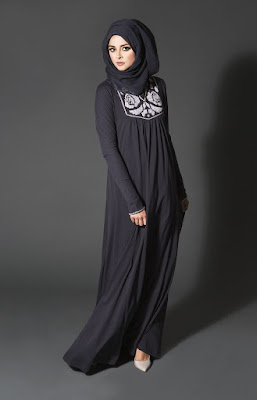 Model Baju Muslim Brokat