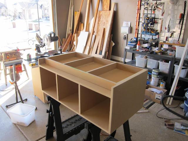 Building a mudroom bench
