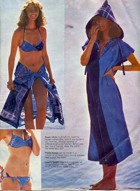 The Vintage Pattern Files: Free 1970's Sewing Pattern - Cool Clothes Beach Wear