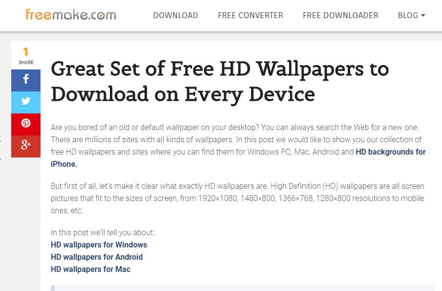 Situs Download Wallpaper Android