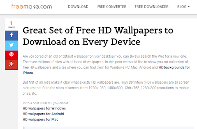 pada ponsel android merupakan salahsatu cara untuk mempercantik performa hape  5+ Situs Download Wallpaper Android Terbaik dan Terlengkap