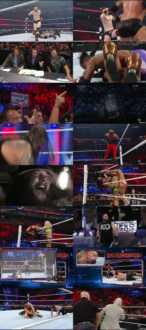 WWE Battleground HDTV Rip 700mb
