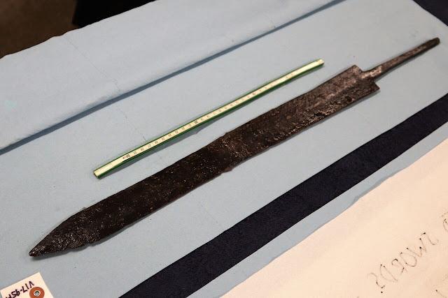 Cache of Roman cavalry weapons found at Vindolanda