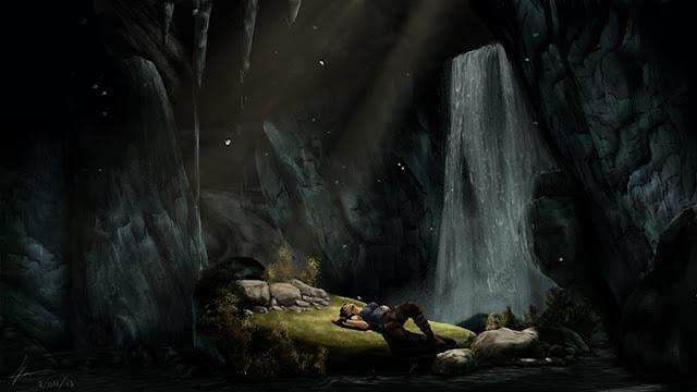 Tomb Raider Cave Wallpaper Engine