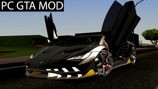 Free Download 2017 Lamborghini Centenario LP770-4  Mod for GTA San Andreas.